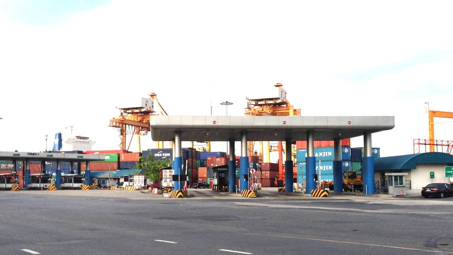 Bangkok Port installs Digital Truck Scales for Inbound Containers